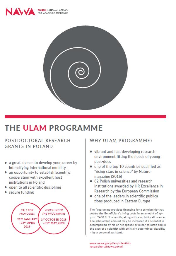 Ulam Programme_poster